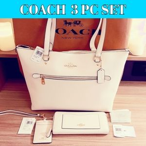 AUTHENTIC Coach 3pc set NWT